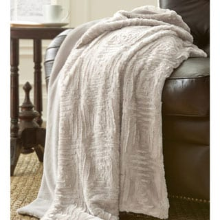 Amraupur Overseas Plush and Cozy Faux Fur Throw