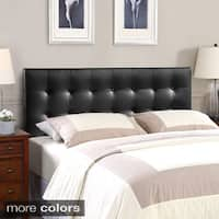 Laurel Creek Payton Full Vinyl Headboard