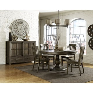 Magnussen D2471 Karlin Wood Round Dining Table with Wood Top