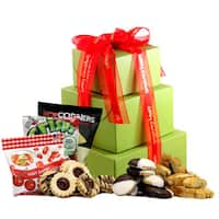 Merry Christmas Gluten-free Large Gift Tower - multi