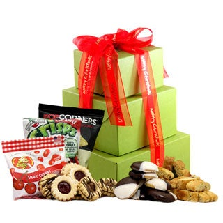 Merry Christmas Gluten-free Large Gift Tower