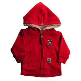 Case IH Toddler's Neutral Sherpa Lined Hoodie