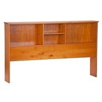 Kansas Solid Wood Full Size Bookcase Headboard