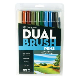 Tombow Dual End Brush Pen Sets (3 options available)