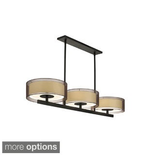 Sonneman Lighting Puri 3-light Bar Pendant