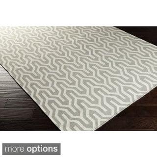 Hand-Woven Jo Reversible Wool Rug (5' x 8')