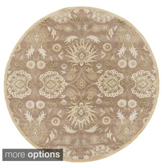 Hand-tufted Noah Traditional Wool Rug (8' Round)