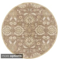 Hand-tufted Noah Traditional Wool Area Rug (8' Round)