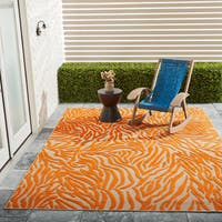Nourison Aloha Outdoor  Animal Area Rug - 7'10 x 10'6