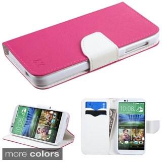 INSTEN Premium Folio Flip Leather Stand Wallet Phone Case Cover For HTC Desire 510
