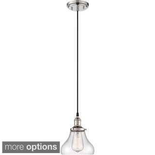 "Nuvo Vintage 1-Light 7"" Caged Pendant"