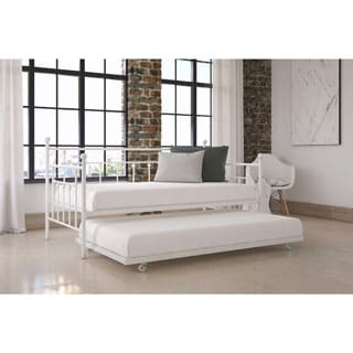 DHP Manila White Daybed and Trundle