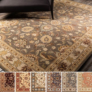 Hand-tufted Nia Traditional Wool Rug (5' x 8')