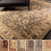 Hand-tufted Nia Traditional Wool Area Rug (5' x 8')