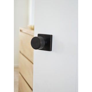 Sure-Loc Bergen Vintage Oil-rubbed Bronze Square Modern Doorknob