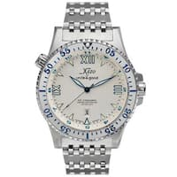 Xezo for Unite4:good Air Commando Mens Limited-Edition Automatic Divers Watch