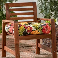 Havenside Home San Elijo Tropical Pattern 20-inch Outdoor Chair Cushion