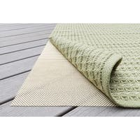 Outdoor Non-slip Beige Rug Pad (8' x 10') - 8' x 10'