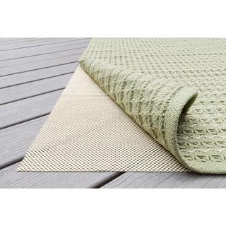 Outdoor Non-slip Beige Rug Pad (8' x 10')