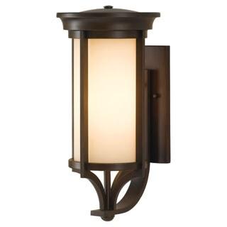 Single-light Merrill Heritage Bronze Wall Lantern
