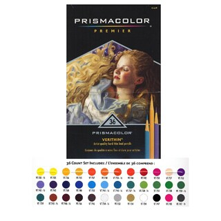 Prismacolor Verithin Colored Pencil Sets (Set of 36)