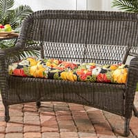 Havenside Home San Elijo Floral 44-inch Outdoor Swing/ Bench Cushion