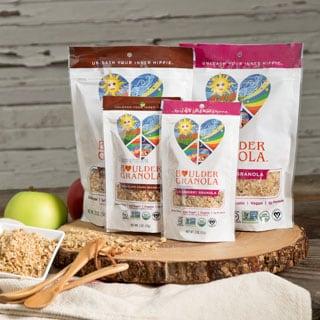 Boulder Granola Organic Gluten-free Cranberry & Chocolate Chunk (Set of 4)