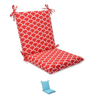 Pillow Perfect Outdoor Sunny Squared Corners Chair Cushion