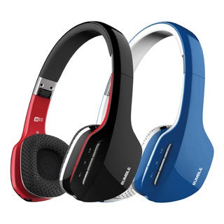 MEE Audio Rumble AF80 Enhanced Bass Bluetooth Wireless Stereo Headphones with Mic and Remote