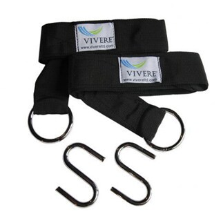 Vivere Eco-friendly Hammock Tree Straps (Pack of 2)