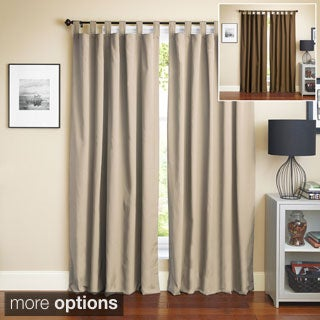 Blazing Needles 84-inch Twill Insulated Blackout Two-Tone Reversible Curtain Panel Pair|https://ak1.ostkcdn.com/images/products/P16962114u.jpg?_ostk_perf_=percv&impolicy=medium