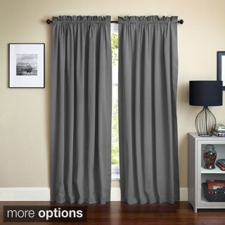 Blazing Needles 108-inch by 52-inch Twill Curtain Panels (Set of 2)
