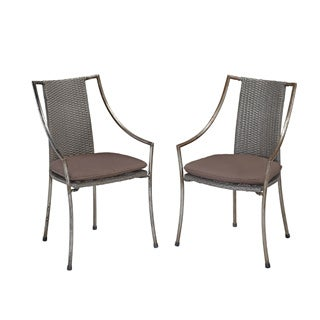 Home Styles Urban Outdoor Cafe Chair (Set of 2)