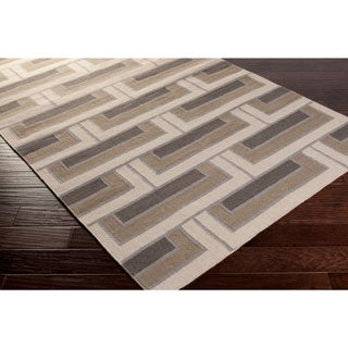 Hand-Woven Alexia Wool Rug (5' x 8')
