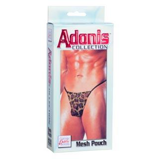California Exotics Adonis Men's Leopard Mesh Pouch Underwear (One Size)