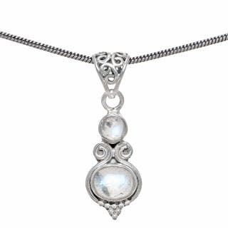 Handmade Sterling Silver Rainbow Moonstone Pendant (India)|https://ak1.ostkcdn.com/images/products/P16982971a.jpg?impolicy=medium