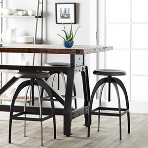 Sunpan Colby Adjustable Stool