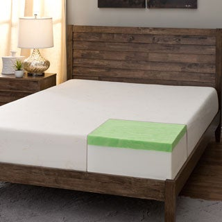 Comfort Dreams Select-A-Firmness 9-inch Queen-size Gel Memory Foam Mattress