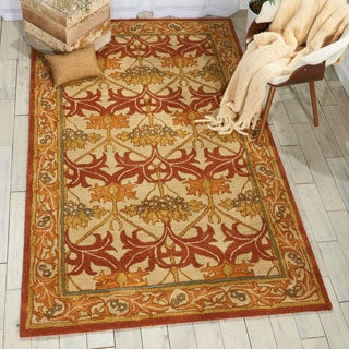 Nourison India House Beige Rug (5' x 8')