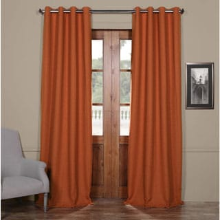 Exclusive Fabrics Grommet Bellino 120-inch Blackout Curtain