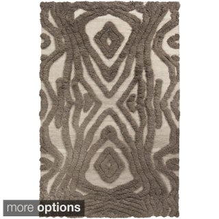 Hand-Woven Adriana Abstract Wool Rug (5' x 8')