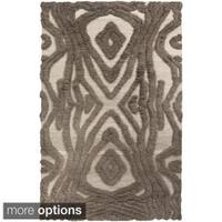 Hand-Woven Adriana Abstract Wool Area Rug - 3'6 x 5'6