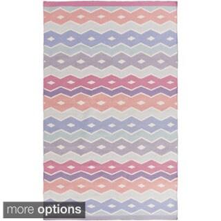 Hand-Woven Bennett Reversible Wool Rug (3'3 x 5'3)