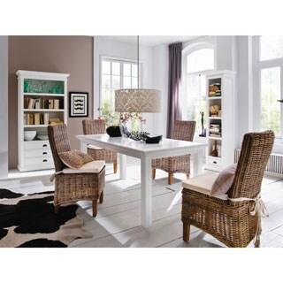 Havenside Home Lindhurst Mahogany Dining Table - White