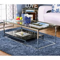 Oliver & James Florence Chrome Coffee Table
