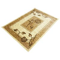 LYKE Home Rosalie Cream Area Rug (8' x 11')