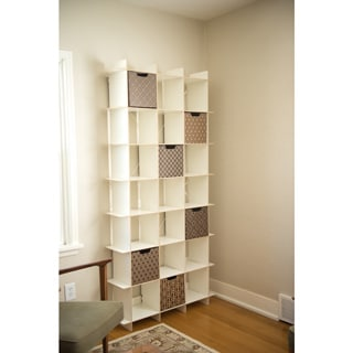 Modern Tall Cube Storage Bookcase
