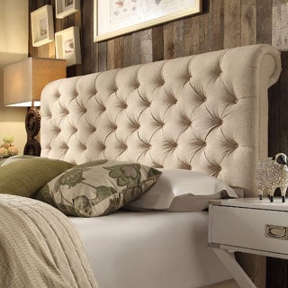 Knightsbridge Rolled Top Tufted Chesterfield King Headboard by SIGNAL HILLS