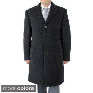 Calvin Klein Mens Plaza Topcoat