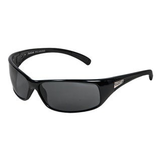 Bolle 10405 Recoil Sport Sunglasses - Shiny Black Frame with Polarized TNS Lenses (8 Base)